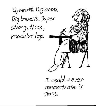 Gymnast in Class by SuperBuff