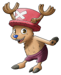 Tony Tony Chopper - The Medic with Antlers by AR-ameth