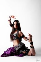 Purple Belly Dance Stock 12 by LoryenZeytin