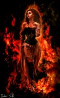 Through the Fire and Flames by LadyPingu