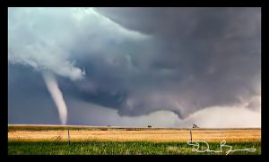 Dueling Tornadoes by stormscapes