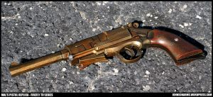 Captain Mal's Pistol from Firefly Variant Finished by JohnsonArms