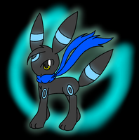 .:Gift:. - Neku the Umbreon by MusicallyMeowstic