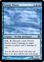 MtG: Psionic Master by Overlord-J