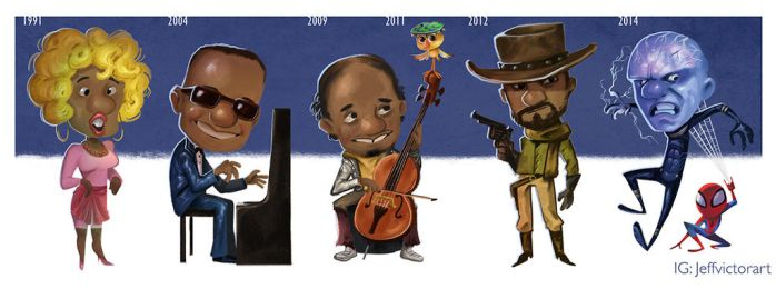 The Evolution of Jaime Foxx by JeffVictor