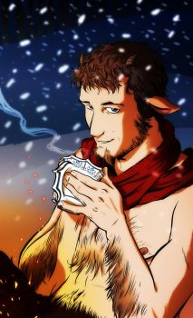 Mr Tumnus by dronio
