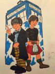 The Doctor and Jamie by Jariket