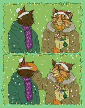 Merry Christmas and Happy New Year! by Kate-Venom