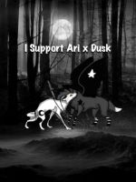 I support Ari x Dusk photo... by qood--vibes