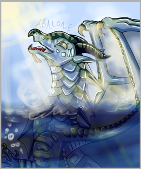 Abalone--Wings of Fire by TheTawnydragon