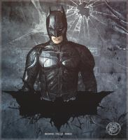 the dark knight rises. by rulartist