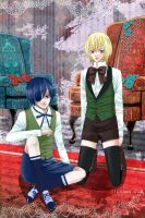 Ciel and Alois by eightsound