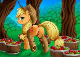 Applejack by forgotten-wings