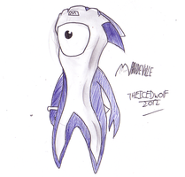 Mandeville 2012 paralympic mascot by TheIcedWolf