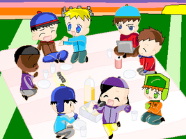 A South Park Picnic by ButtonTrucks