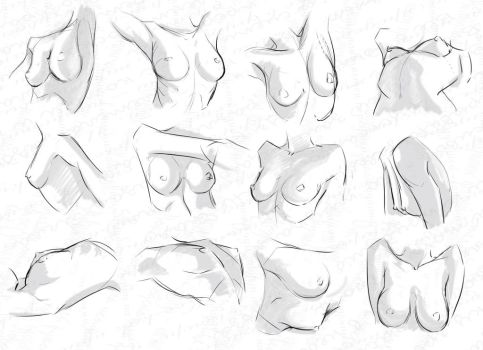 Self Practice - Breasts by AzizlaSwiftwind