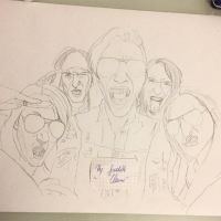 blackveilbrides band sketch by xxdaswarwohlnix