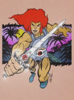 THUNDERCATS LION O by ChrisFaccone