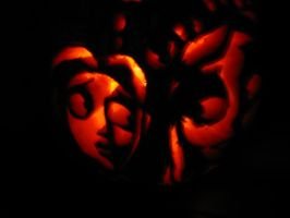 The Corpse Bride Pumpkin V+C5 by SquirtBox