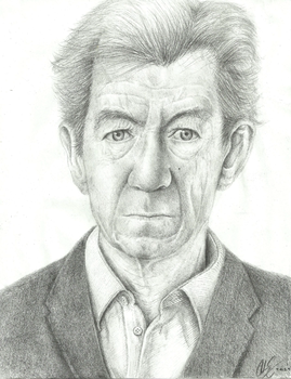 Sir Ian McKellen by EiDrianDM