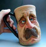 Mr. Mustache Mug- FOR SALE by thebigduluth