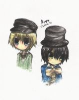 Oliver n' Dodger by Nippo