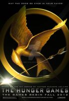 Hunger Games Movie Poster by heatona