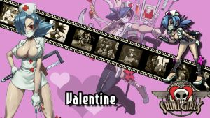 Skullgirls : Valentine Wallpaper by ariff78