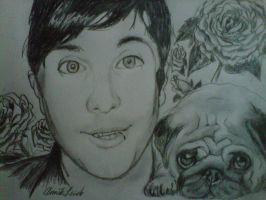 Frank and a Pug by sailingsailor