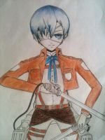 Attack on Ciel Phantomhive by Raystah