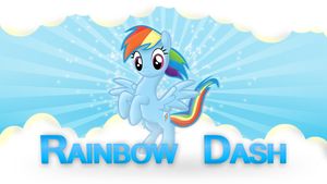 Rainbow Dash Cloudy Wallpaper by Antik9797