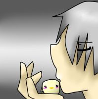 Prussia Loves Gilbird by Fainting-Ostrich
