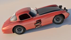 1955 Mercedes Benz 300 SLR by SamCurry