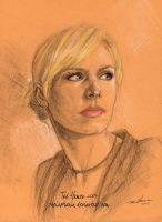 Veronica Mars portrait by TheLastRonin