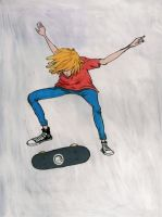 skate mag poster by like-textas
