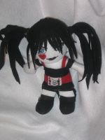 Goth Ish Plush by IrashiRyuu