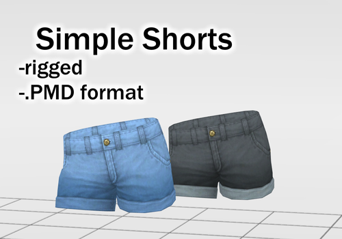 Simple Shorts DOWNLOAD by Reseliee