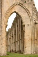Glastonbury Abbey 9 by FoxStox