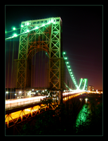 George Washington Bridge by drivingnorth
