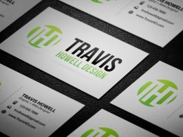Business Card Layout 3 by ShindaTravis