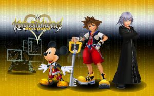 KH re:coded wallpaper ver:2 by RoxasTsuna