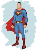 Superman Redesign by Mista-M