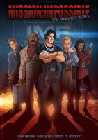 The Animated series...Mission Impossible by DazTibbles