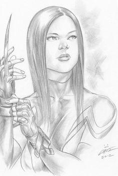 X-23 by Mike Choi by kitsunx