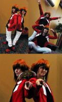 Anime STL 2010: Double the Red by Malindachan