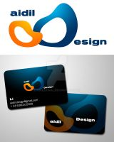 Aidil Design Card by pofezional