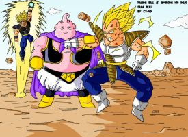 Dragon Ball Z Inversion Des Rôles Saga Buu by CB-95