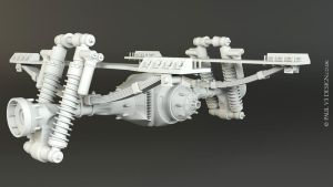 Sno-Fox Cat Full Axle - WIP by PaulV3Design