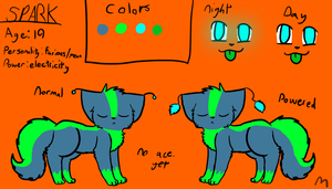 Spark ref by AprilTheKitty