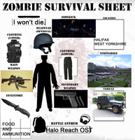 Zombie Survival Sheet by DatRets